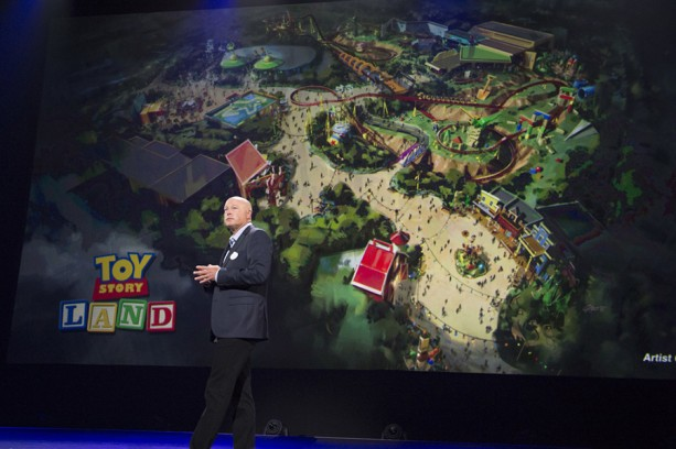 BOB CHAPEK (Chairman, Walt Disney Parks and Resorts)
