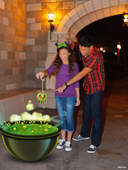 Get Halloween-themed Magic Shots from disney PhotoPass During Mickey's Not-So-Scary Halloween Party