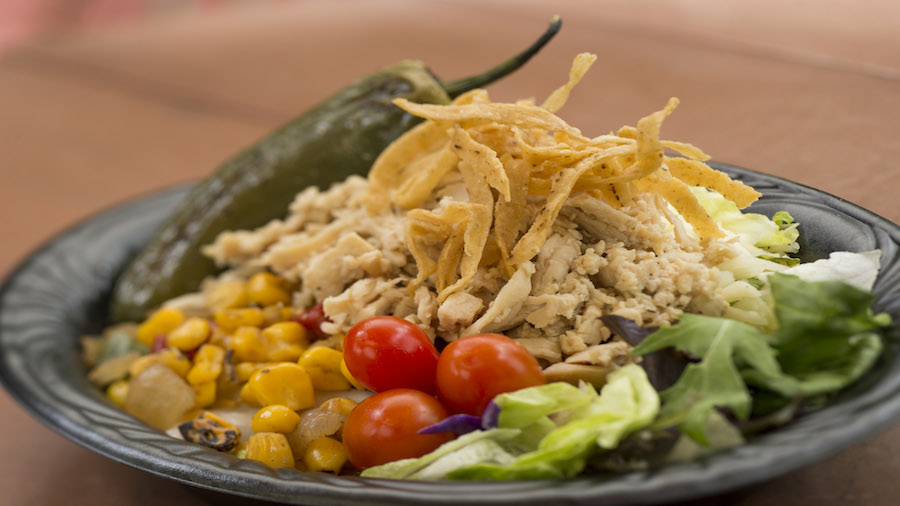New Southwest Chicken Salad from Pecos Bill Tall Tale Inn and Café in Magic Kingdom Park