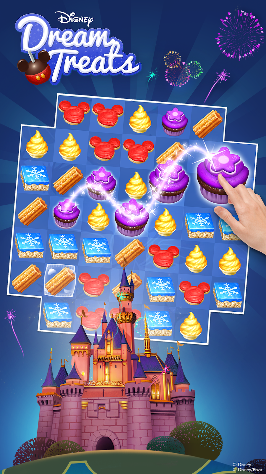 New Disney Dream Treats Puzzle Game Available for Download Now