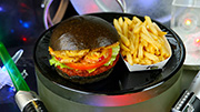 First Order Specialty Burger at Galactic Grill in Disneyland Park