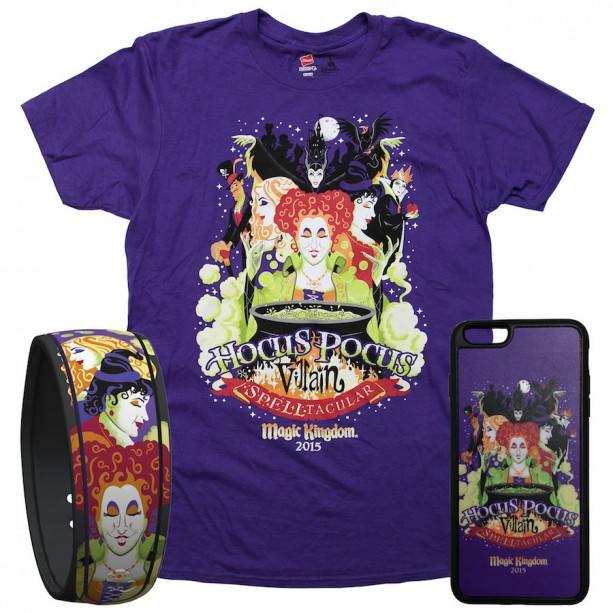 New 'Hocus Pocus Villain Spelltacular' Items Coming to Mickey's Not-So-Scary Halloween Party in October