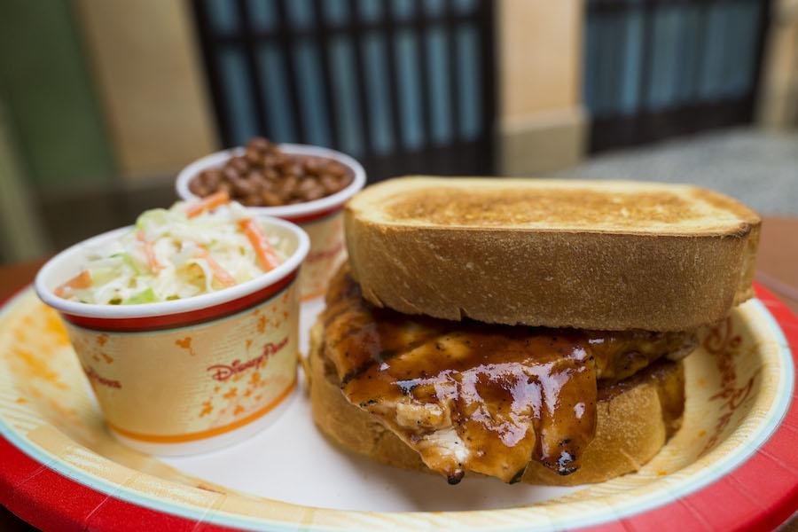 Grilled Chicken Breast at Tortuga Tavern in Magic Kingdom Park