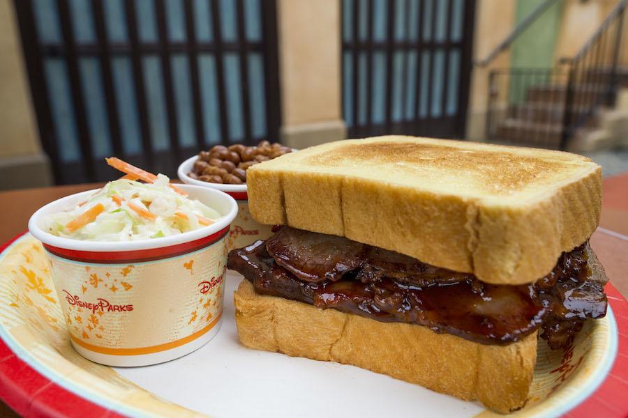 Sliced Beef Brisket at Tortuga Tavern in Magic Kingdom Park