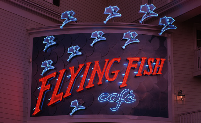 Flying fish caf at disney s boardwalk to be reimagined in for Flying fish cafe disney