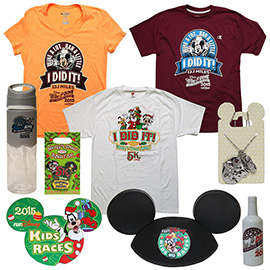 First Look at Commemorative Products for Disney Wine & Dine Half Marathon Weekend 2015