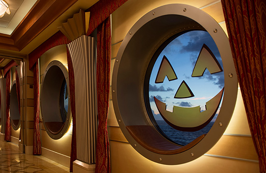 Behind the Scenes: Decorating Disney Ships for Halloween on the High Seas
