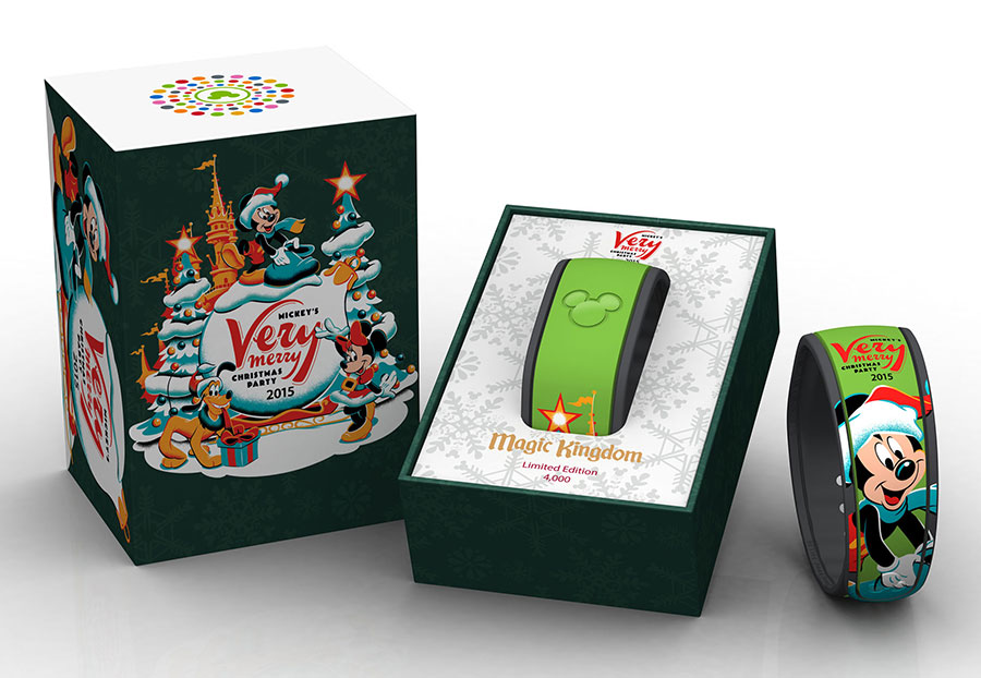 Disney Parks Commemorative Merchandise For Mickey's Very Merry ...