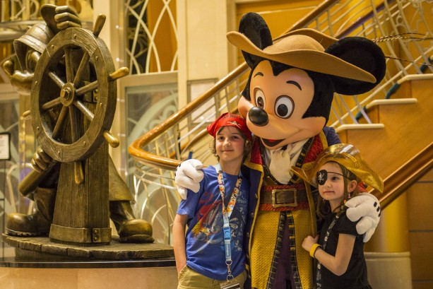 Disney Magic Atrium – Pirate Mickey