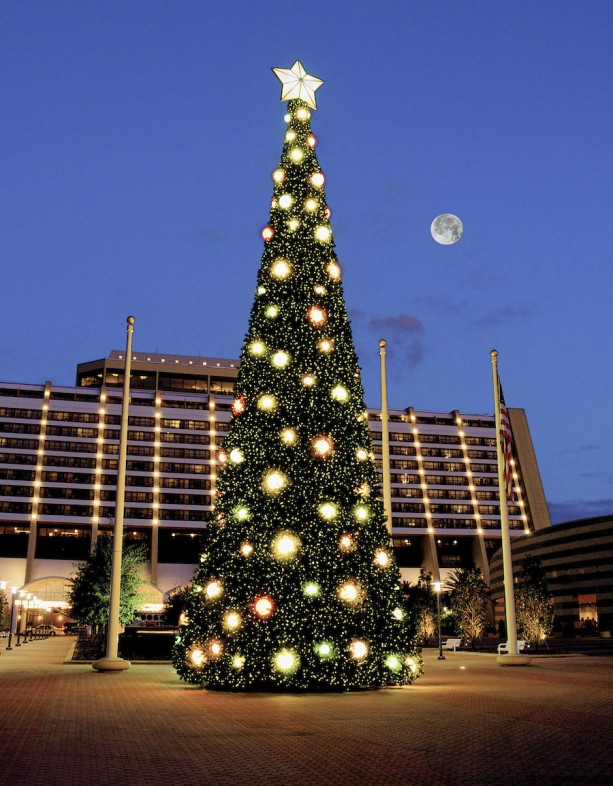 Christmas Tree at Disney's Contemporary Resort