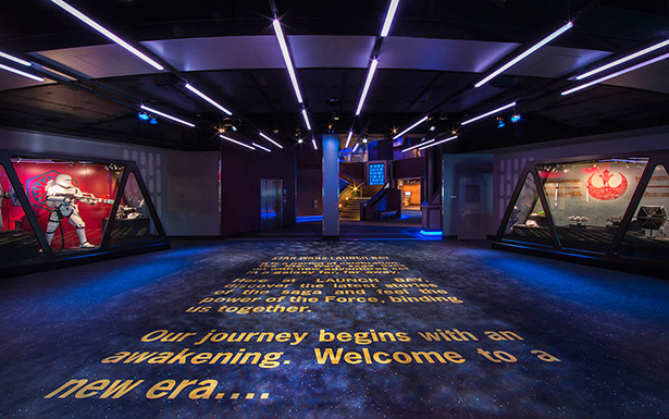 Star Wars Launch Bay at Disneyland Park