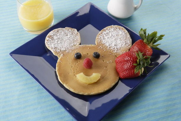 Mickey Mouse Pancakes at Disneyland Park
