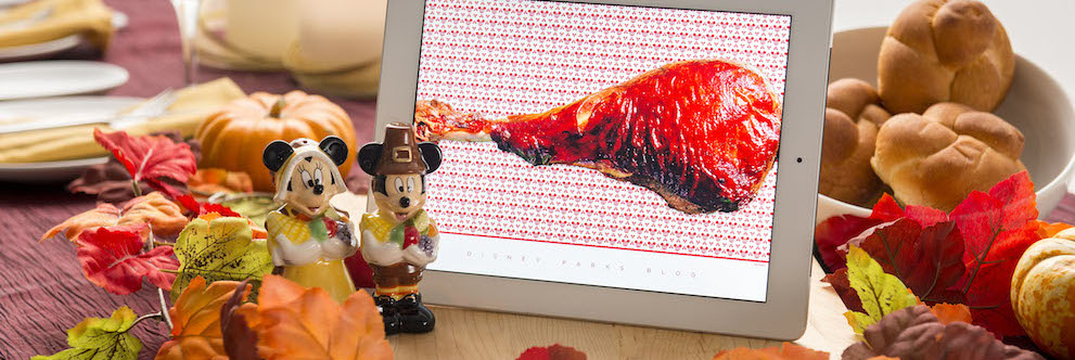 Happy Thanksgiving from the Disney Parks Blog