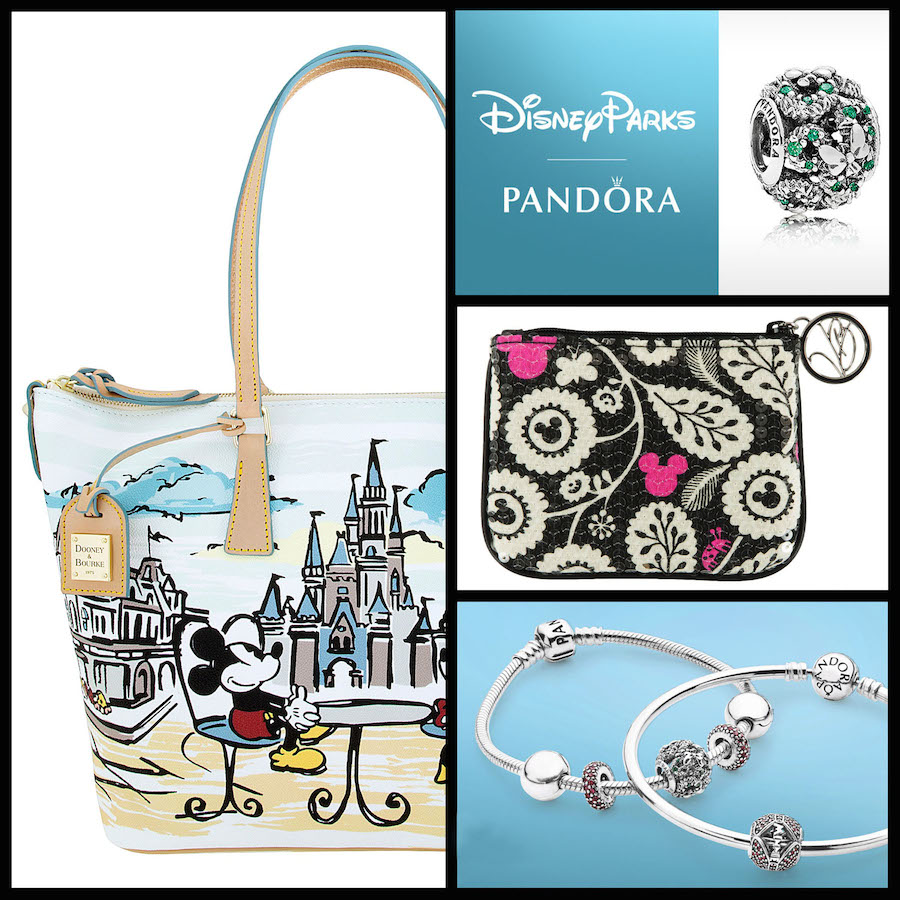 Disney Parks Merchandise Pieces by PANDORA Jewelry, Dooney & Bourke or Vera Bradley