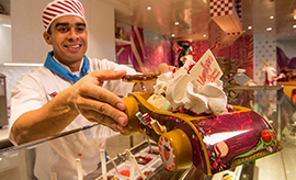 The Inside Scoop on Vanellope's Sweets and Treats aboard the Disney Dream