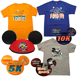 First Look at 2016 Walt Disney World Marathon Weekend Commemorative Products
