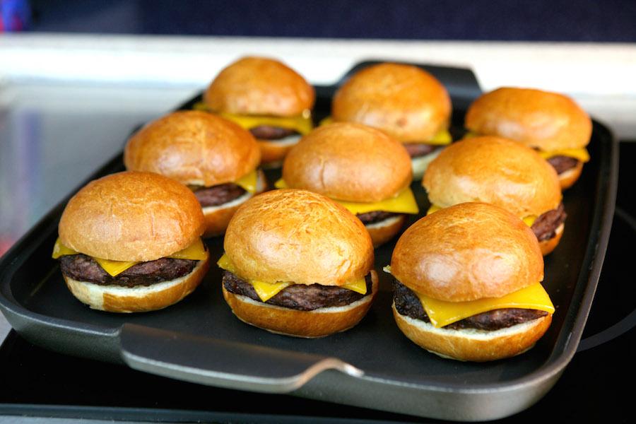 Mini Hamburgers from the Beach Side Bonfire Dinner Buffet at Disney's Paradise Pier Hotel