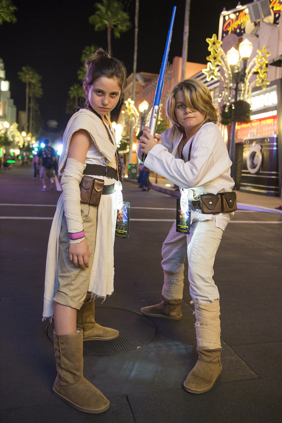 Guests Celebrate The Opening Of 'Star Wars: The Force Awakens' at Disney's Hollywood Studios