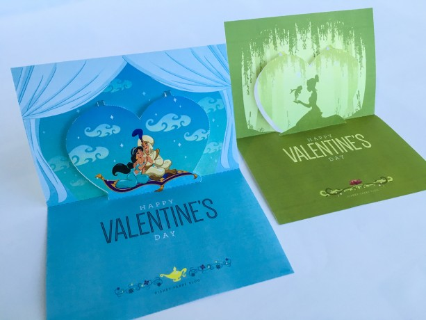 Create Your Own Disney Parks Pop-Up Valentines Day Card