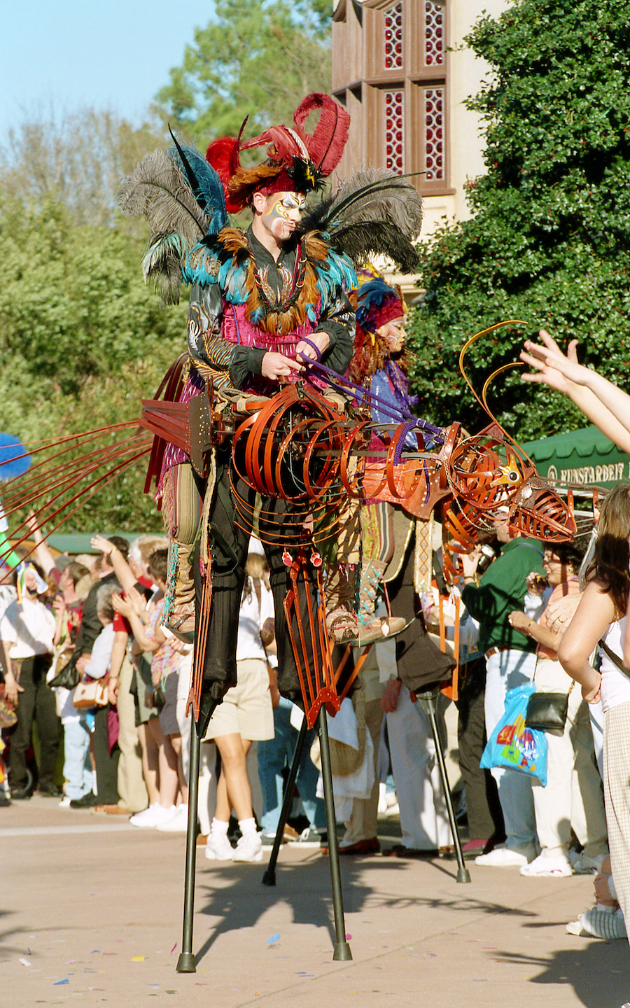 Carnivale at Epcot in 1998