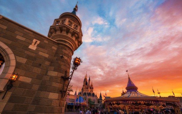 Disney Parks After Dark: It's Dusk In Fantasyland