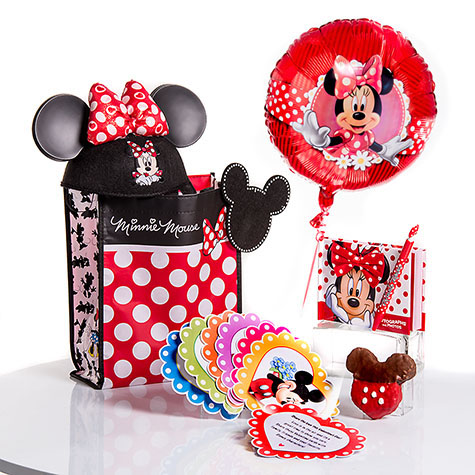 Minnie's Valentine Surprise and Mickey's Valentine Surprise from Disney Floral & Gifts