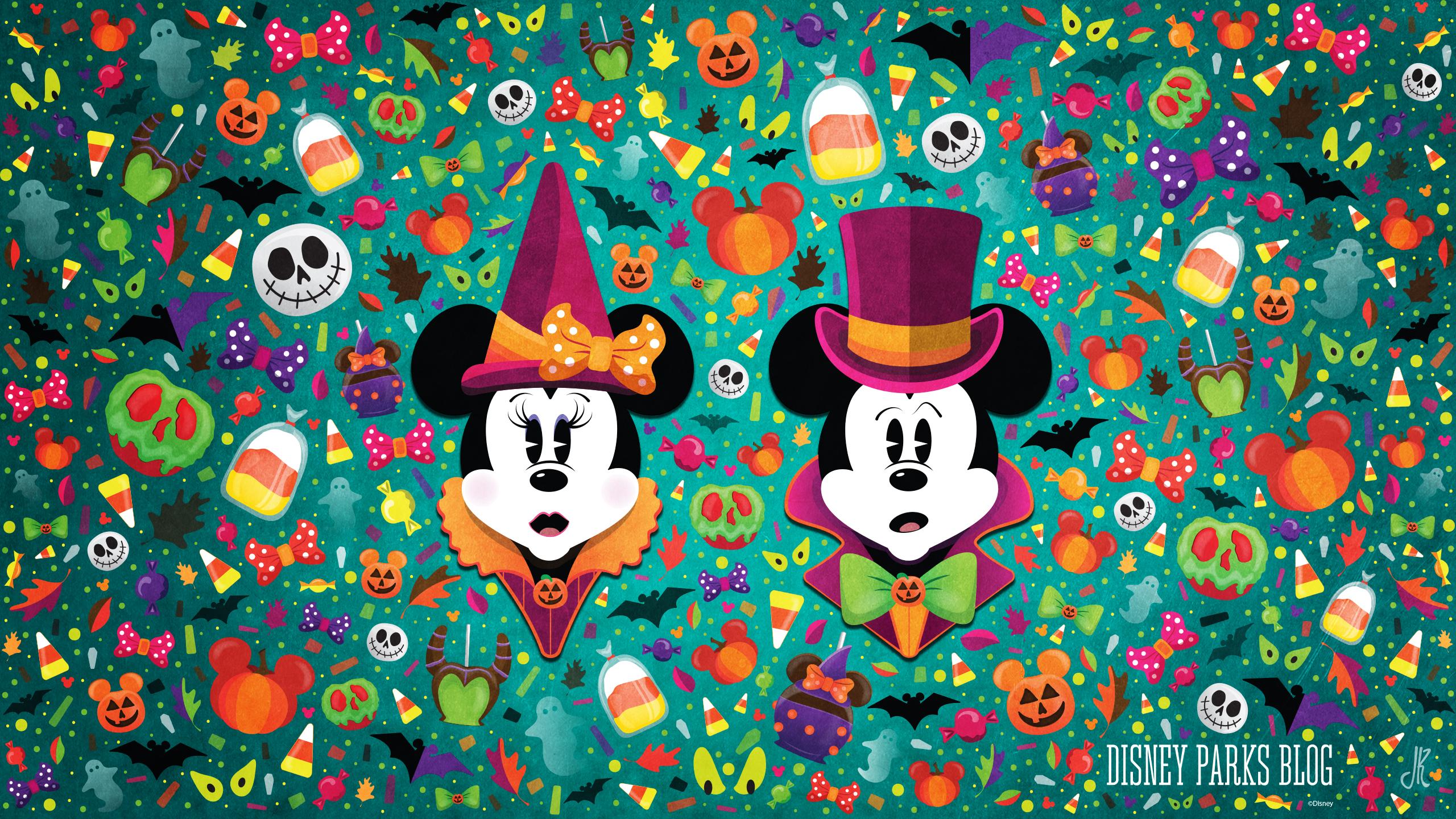 Wonderfalldisney Halloween Wallpaper Desktop Disney