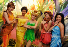 Tinker Bell and Fairies