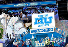 Monsters University Homecoming