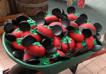 Strawberry Ear Hats