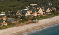Bird's-eye view of Disney's Vero Beach Resort, a Disney Vacation Club Resort