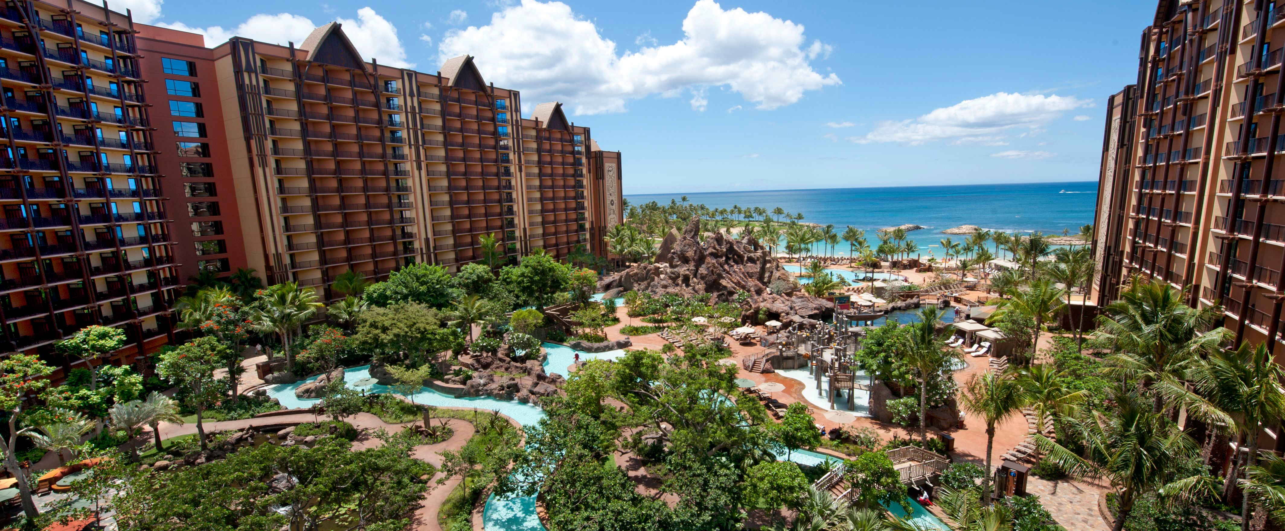 Oceanfront Resort Aulani Is Conveniently Located On Ko
