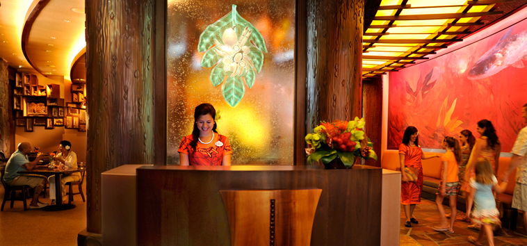 Aulani Makahiki Hostess Desk