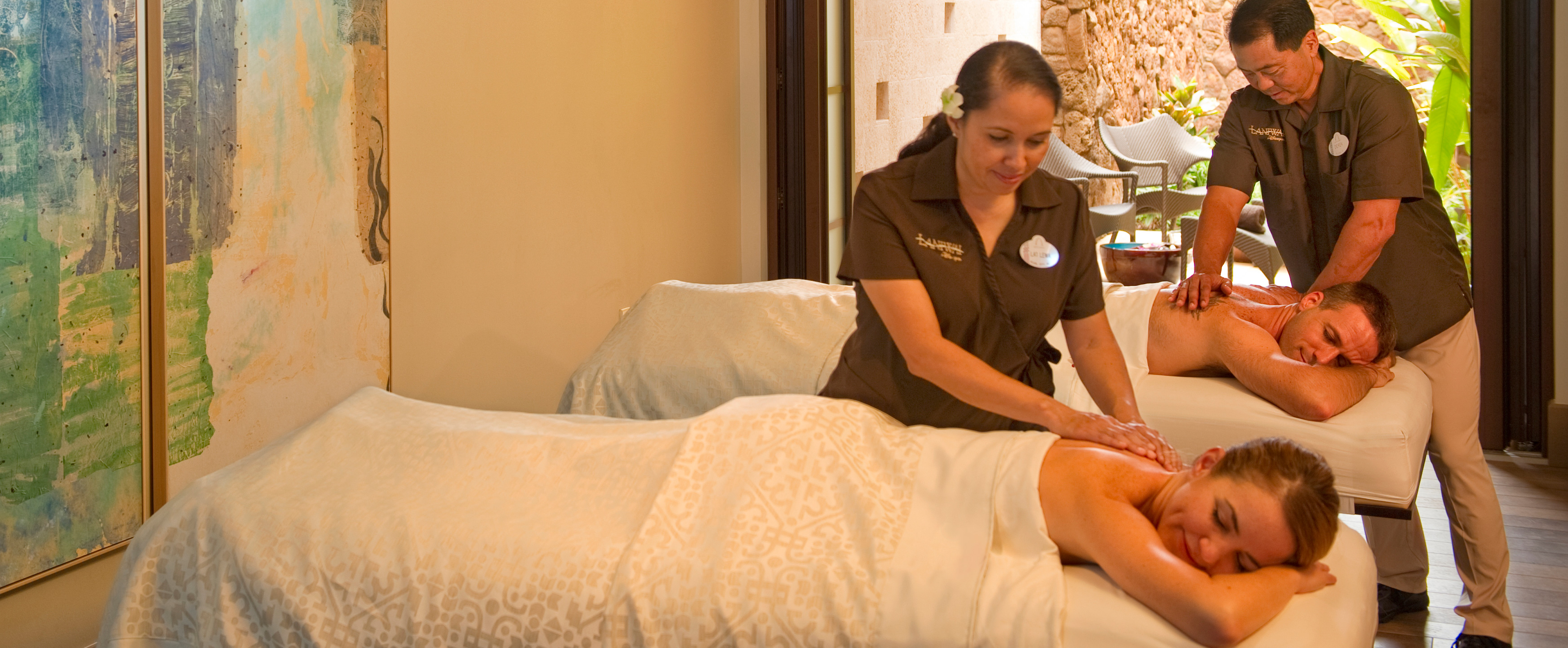 Spa therapies treatments aulani hawaii resort spa for Actual beauty salon