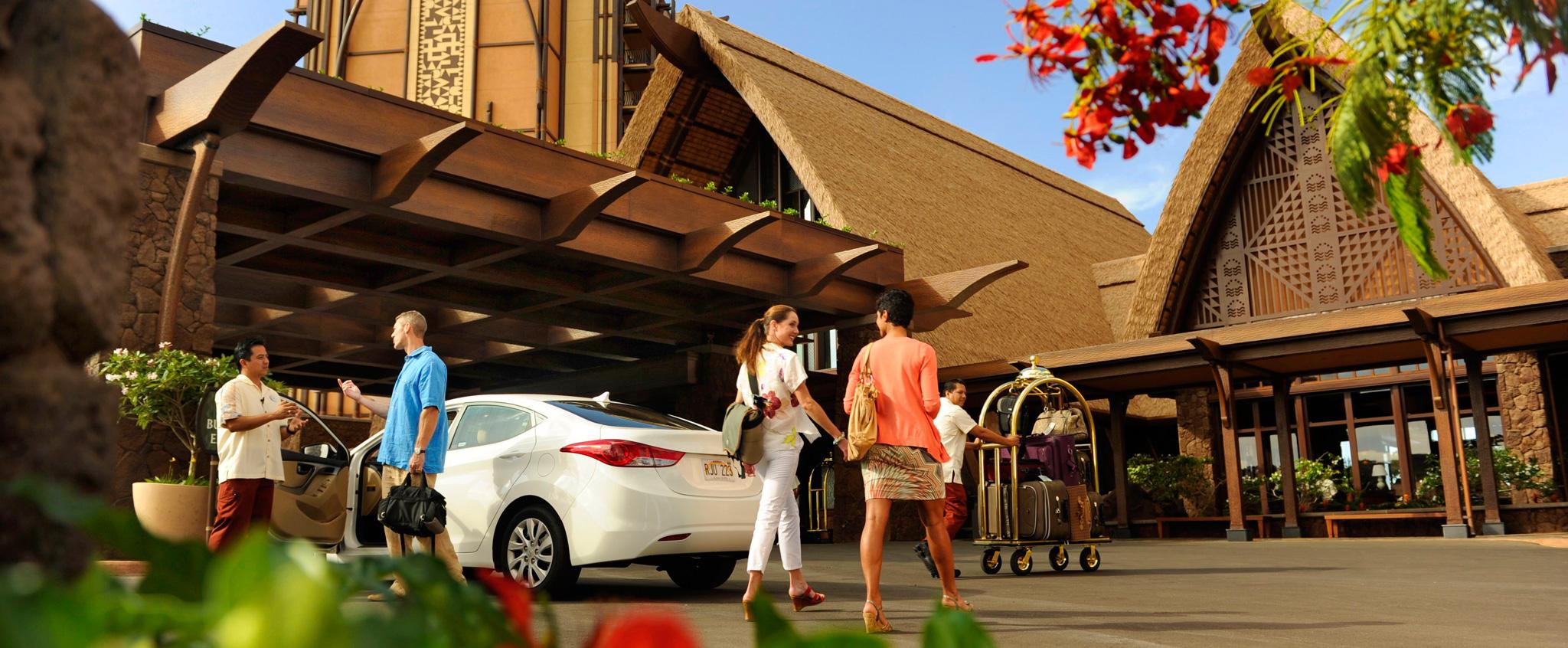 Parking Amp Transportation Aulani Hawaii Resort Amp Spa