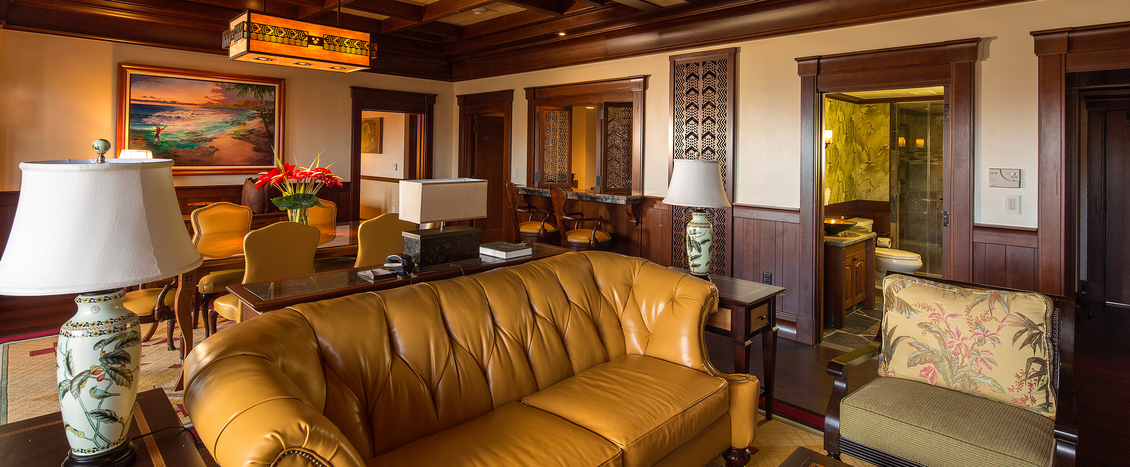 Ahu Ula Suite The Living Area Offers Ample Seating